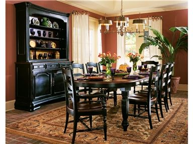Shop For Hooker Furniture Oval Dining Table 332 75 200 And Other