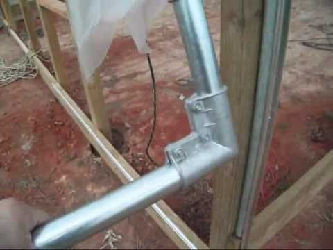 Greenhouse Construction How To Make Roll Up Side Curtains Youtube Greenhouse Construction Diy Greenhouse Small Greenhouse Design