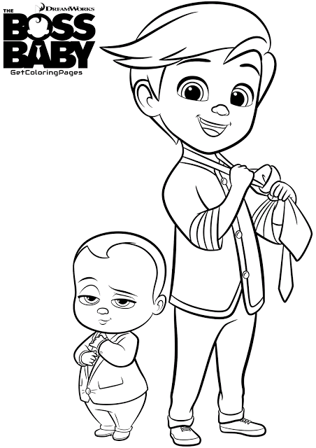 dreamworks the boss baby coloring pages located in the boss baby category free printable dreamworks the boss baby coloring pages for kids