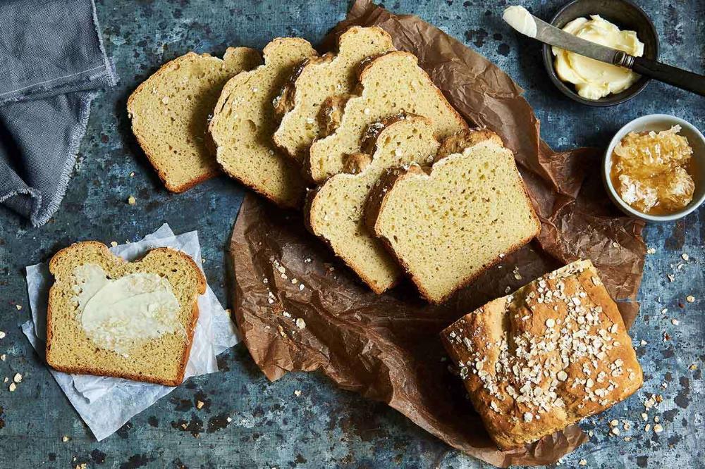 Gluten Free Honey Oat Sandwich Bread Recipe In 2020 Gluten Free Honey Oat Sandwich Bread Bread
