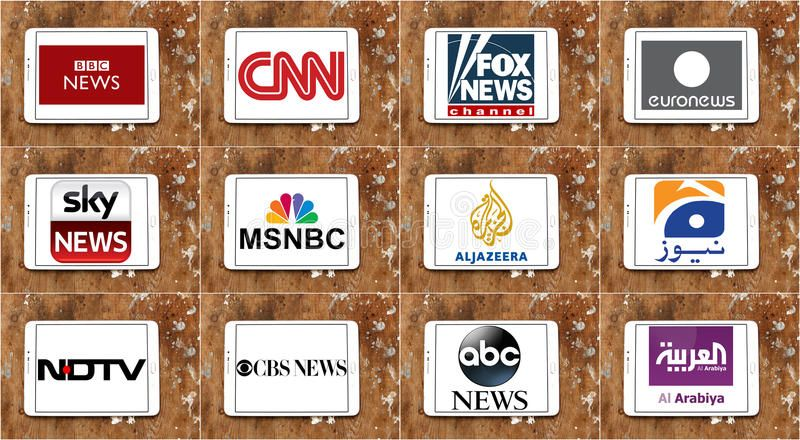 Logos Of Top Famous Tv News Channels And Networks Collection Of Logos And Vecto Spon Channels News Collection Network News Channels Tv News Channel