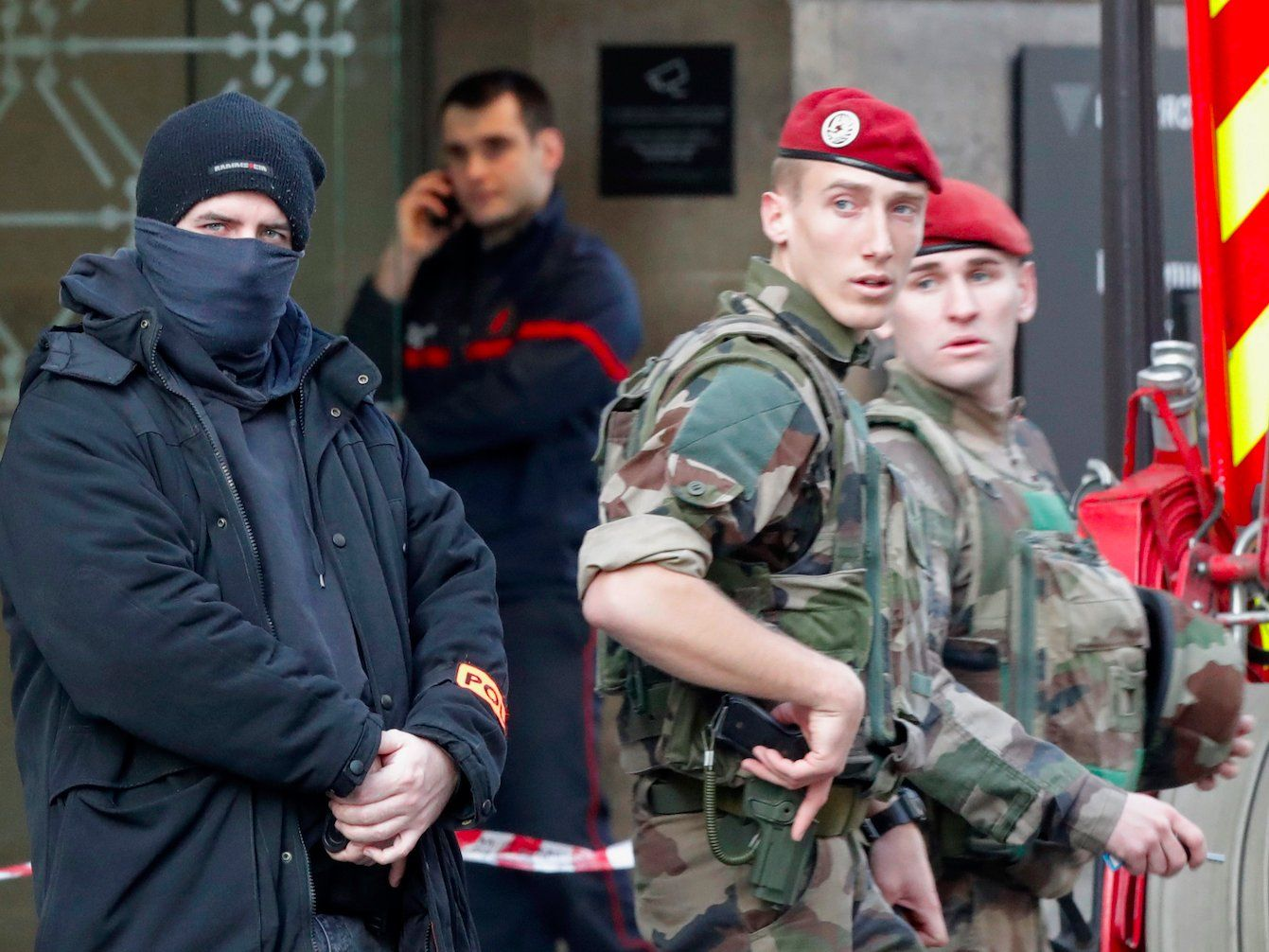 'GET SMART U.S.': Trump warns after man he calls 'radical Islamic terrorist' attacks Louvre museum in Paris