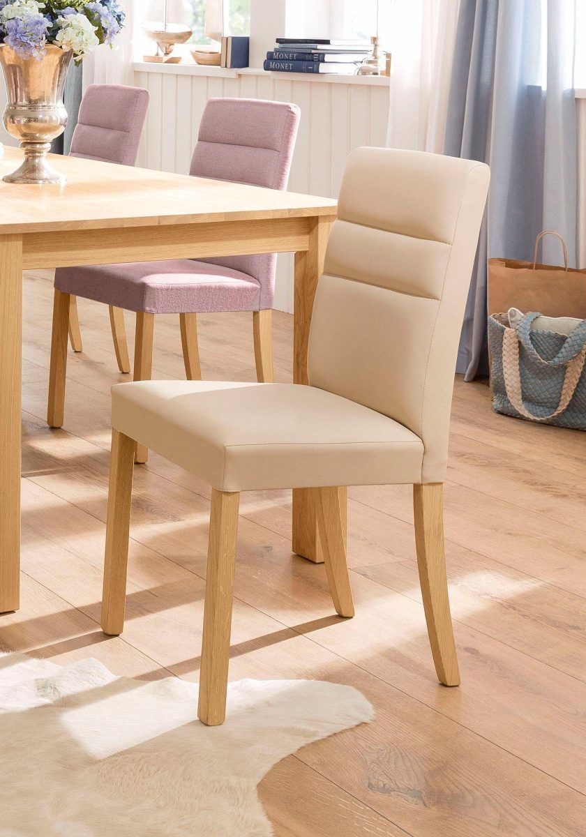 Home Affaire Stuhl »Lona« Beige, 6er Set, Struktur, Strapazierfähig, FSC