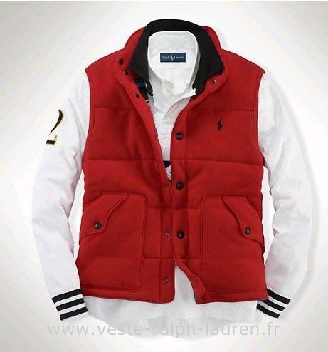 Boutique Hommes 2013 Veste Polo Populaire Lauren Sans Ralph Manches On0v8mNw