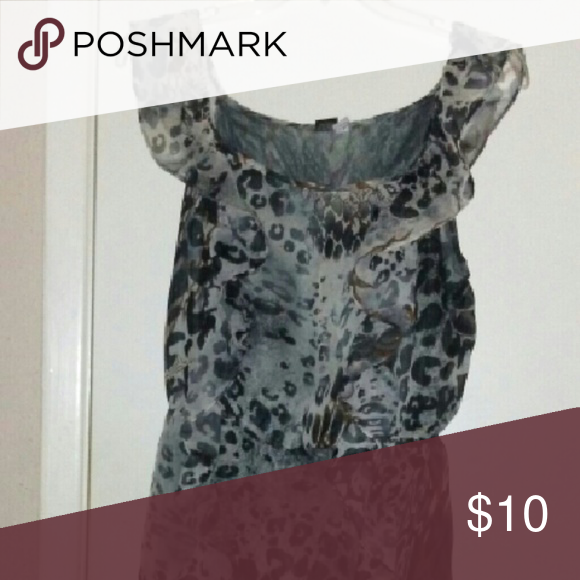 Bold And Beautiful Animal Print Summer Dress This Ruffled Has A