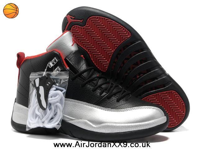 huge discount 2ca2d 9dd60 Johnny Kilroy Air Jordan 12 (XII) Silver/Black/Red ...
