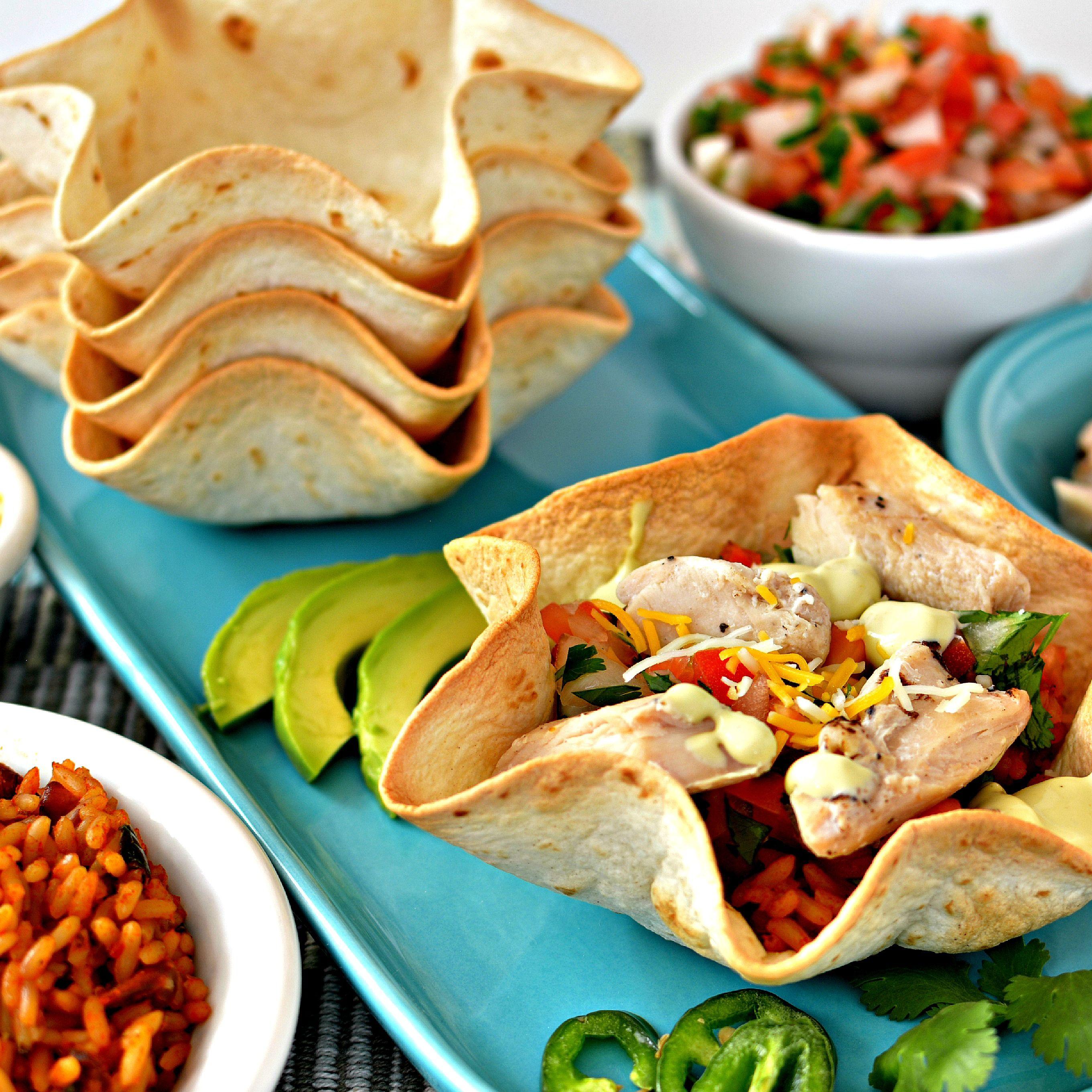 Chicken Taco Bowls Recipe: Pin On 2015 Faceless Recipes