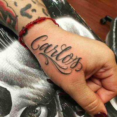 Tatuajes De Nombres Tatuajes De Nombres Disenos De Tatuaje De Nombres Fuentes De Letras Para Tatuaje