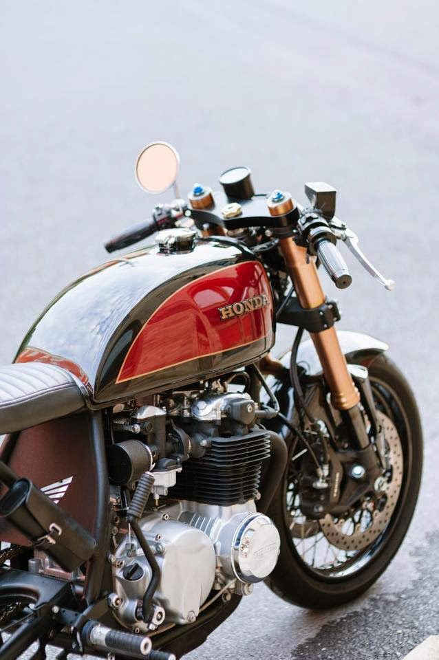 RocketGarage Cafe Racer: CB550 Cafe Racer | Turbo | Cb550
