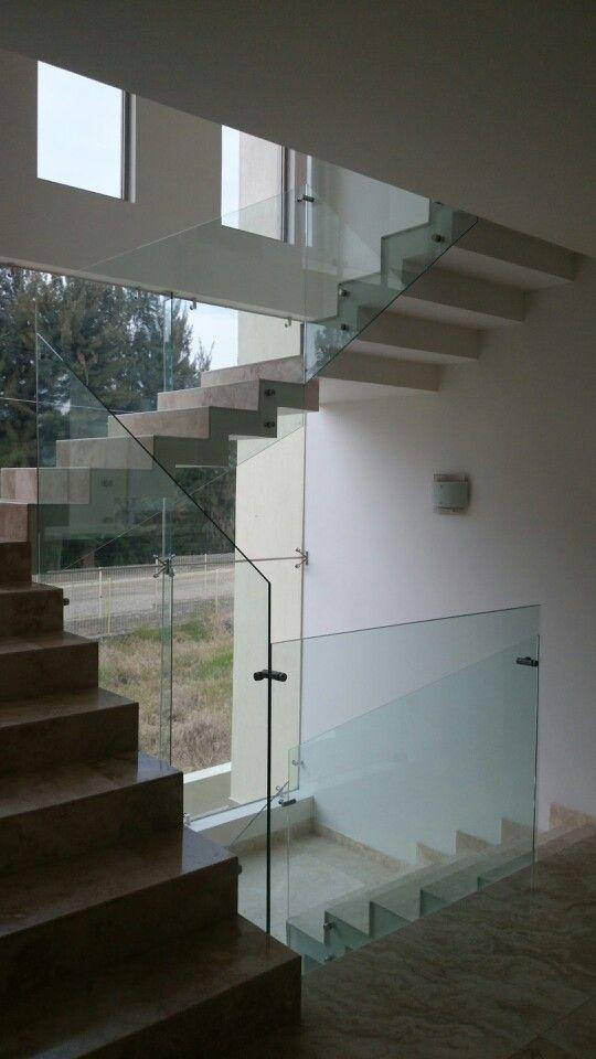 Pasamanos de cristal templado pasamanos de cristal pinterest house home decor y decor - Pasamanos de cristal ...