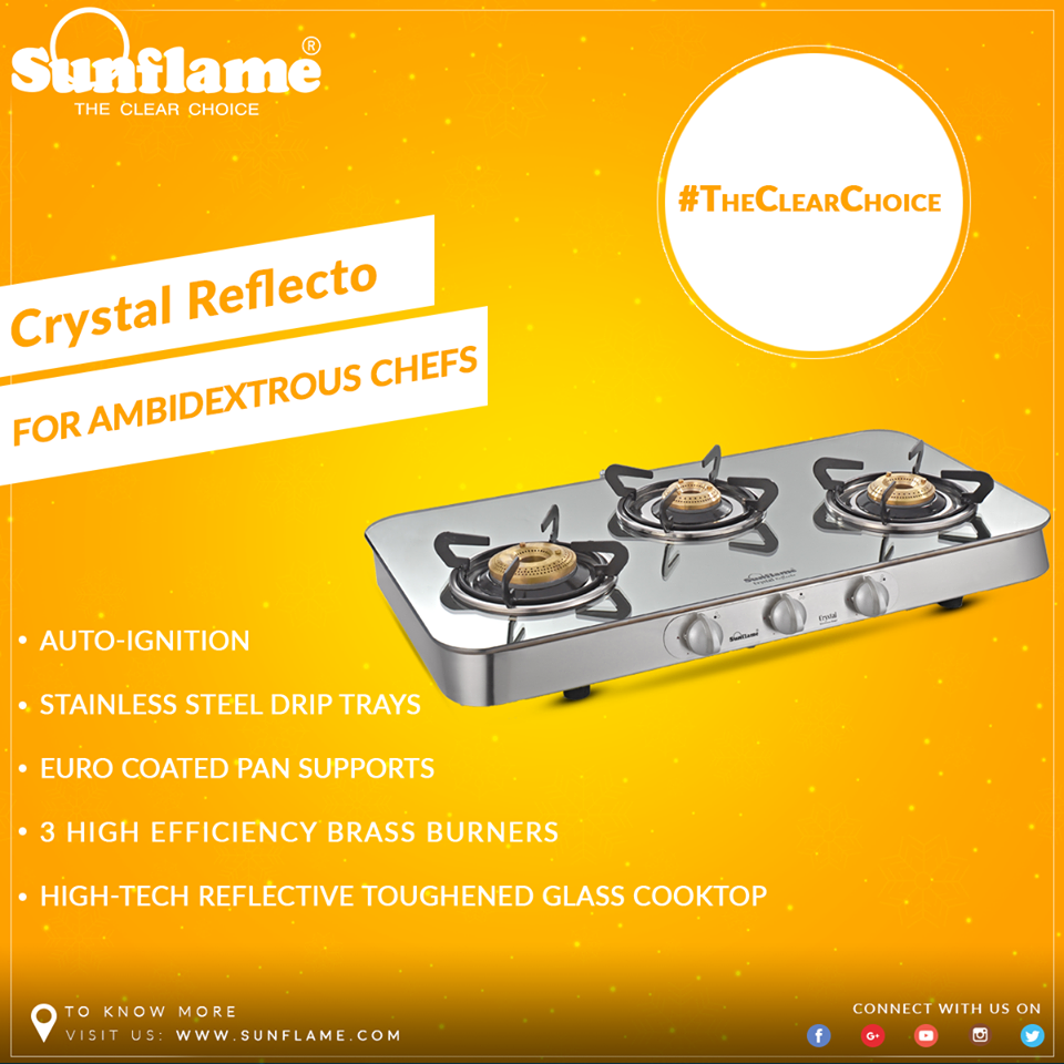 sunflame is one of the most admired home and kitchen appliances