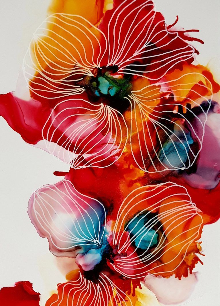 96 DIY Abstract Alcohol Ink Art Ideas – Usefull Information
