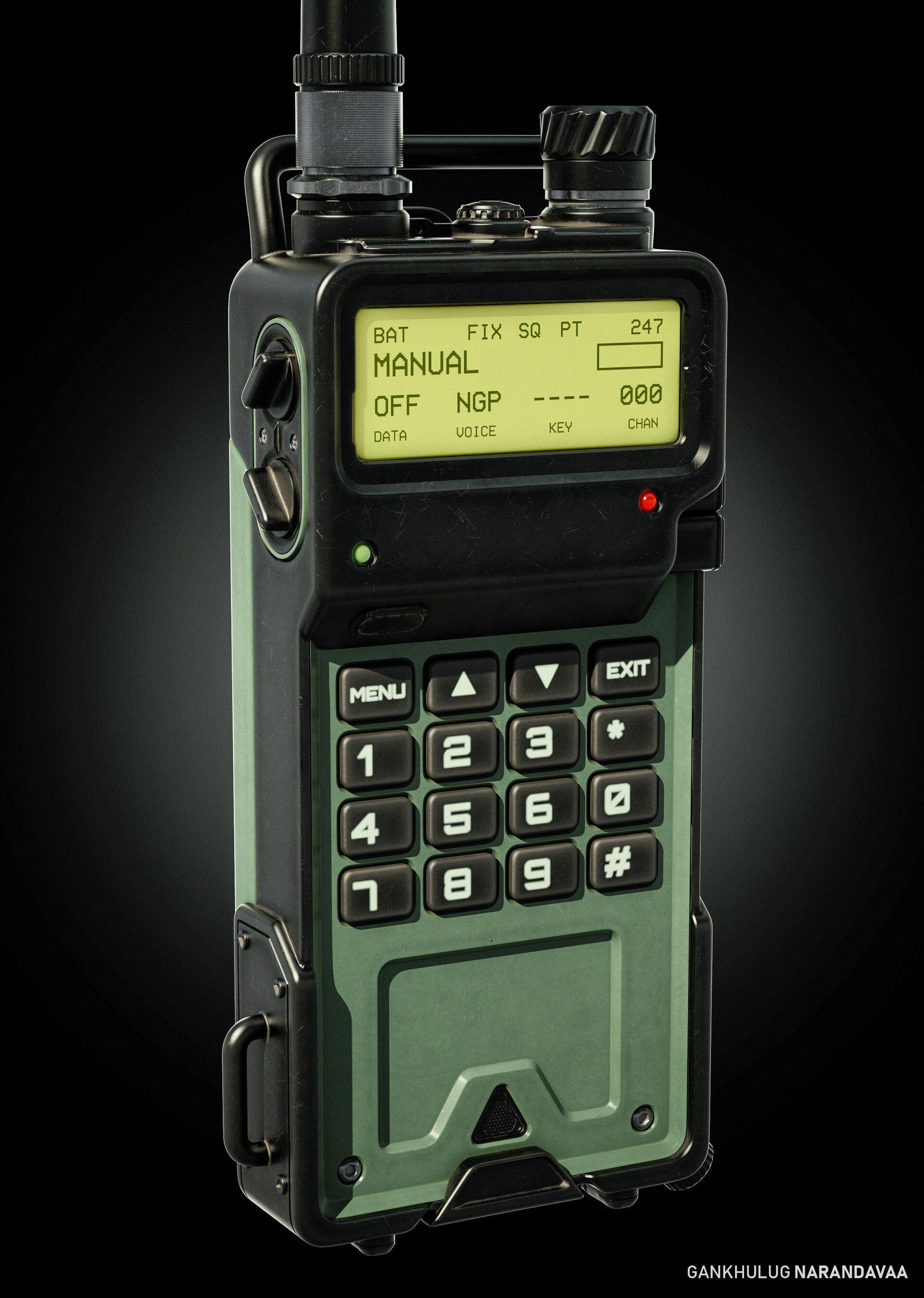 ArtStation Tactical Radio Device, Gankhulug Narandavaa