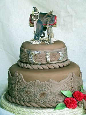 Fabulous Western Wedding Cake Western Themed Wedding Wedding Cake Funny Birthday Cards Online Barepcheapnameinfo