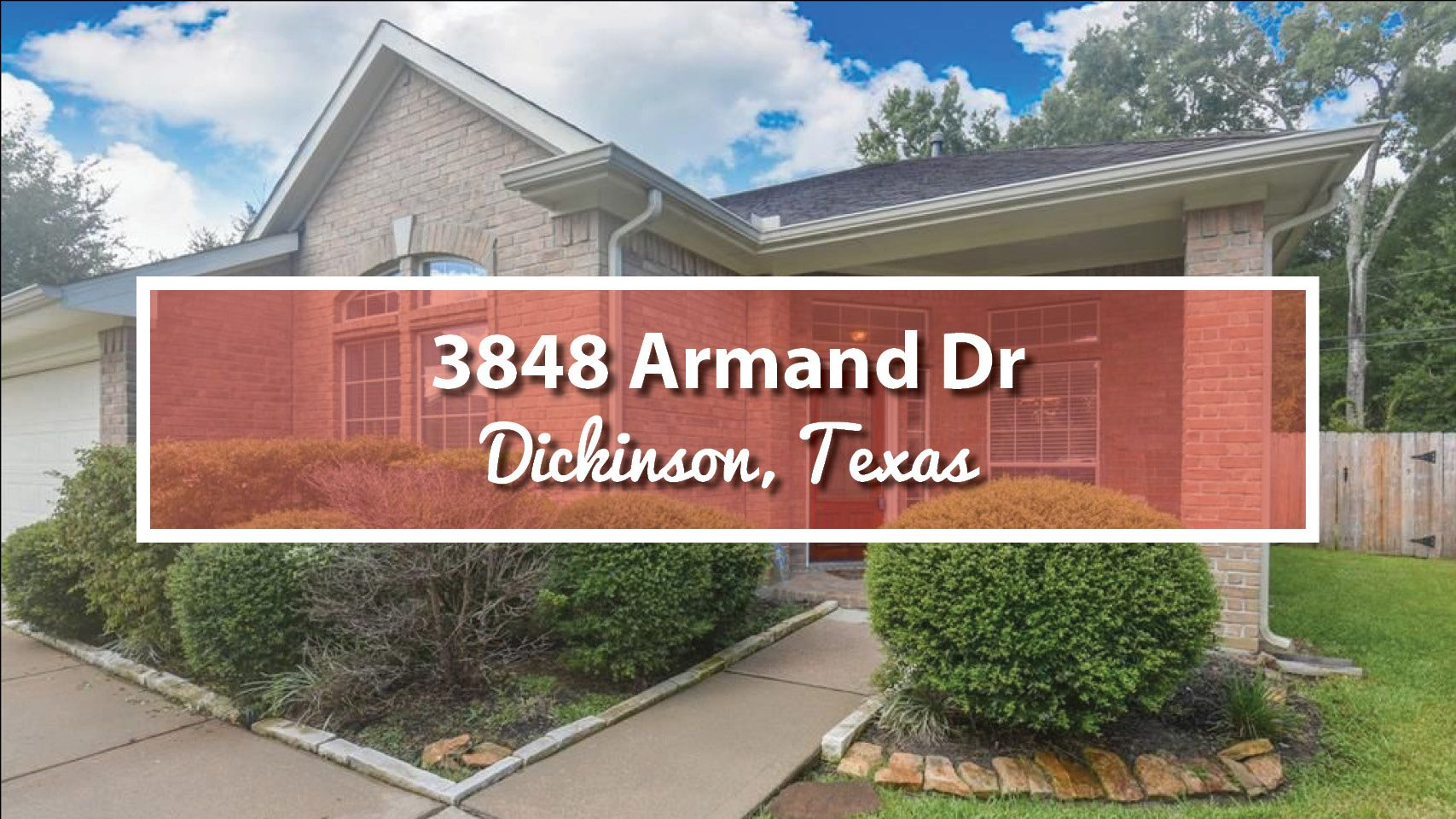 Featured 3848 Armand Drive Dickinson Houston Real Estate Real Estate Outdoor Decor