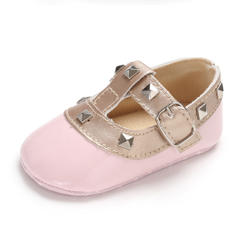 Valen Tiny Pink Pink Moccasins Cute Baby Shoes Red Bottom Shoes
