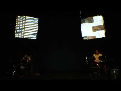 Drum Duet 3-d Projection Mapping - YouTube