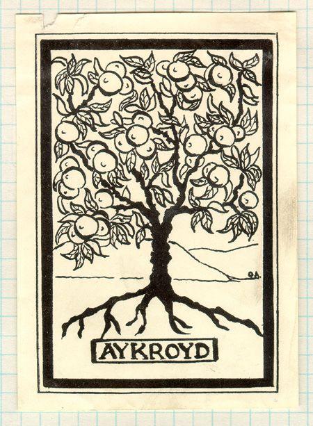 Ex Libris. Owner: Aykroyd