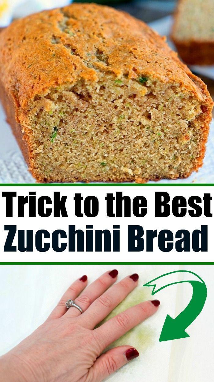 best zucchini bread zucchinibread moist best grandmas