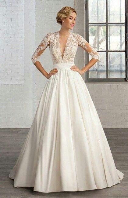 Pin by Karolina on Wedding dress | Pinterest | Wedding dress ...