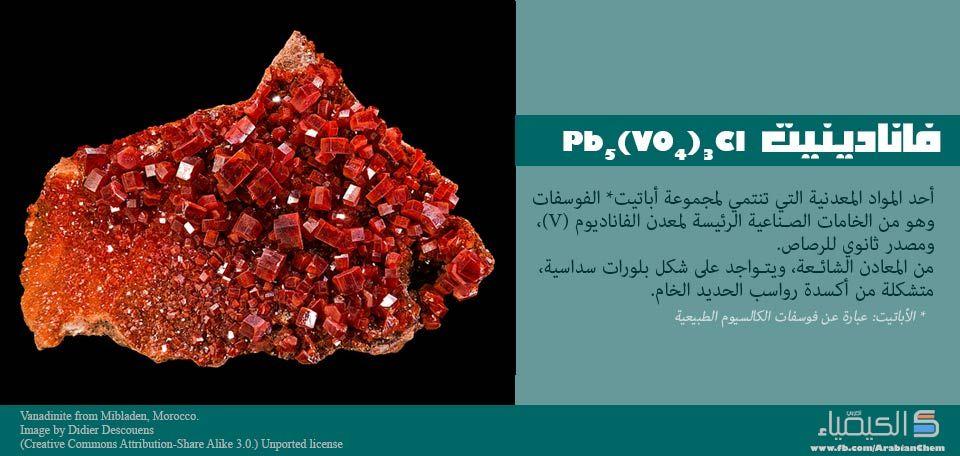 صورة الفانادينيت Vanadinite Chemistry