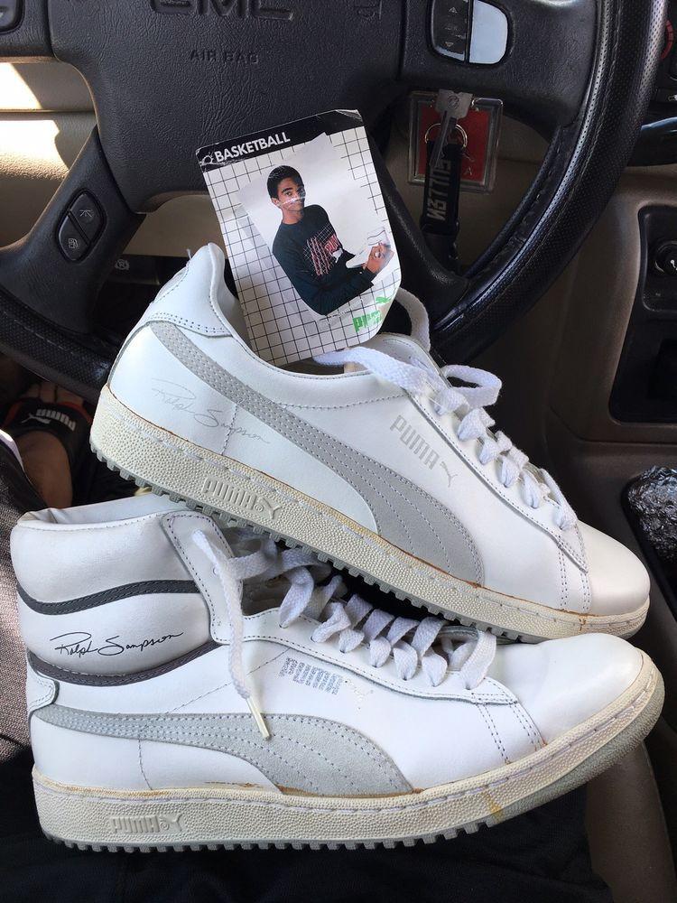 meet 44aa7 1edc5 1980s Vintage Ralph Sampson signature PUMA Deadstock Low   Hi Top Shoes !            fashion  clothing  shoes  accessories  mensshoes  athleticshoes  (ebay ...
