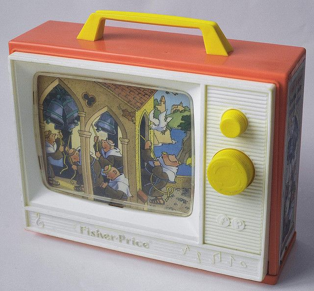 musical tv #fisher_price #vintage