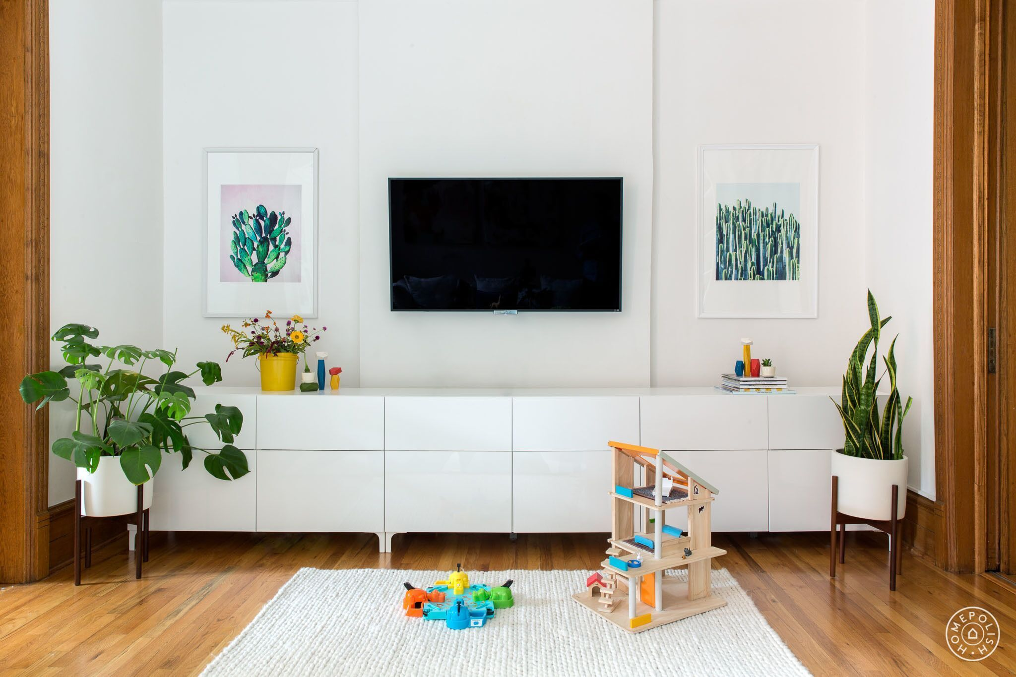 Homepolish Designer Ana Claudia Schultz Helped Design A Brooklyn Brownstone