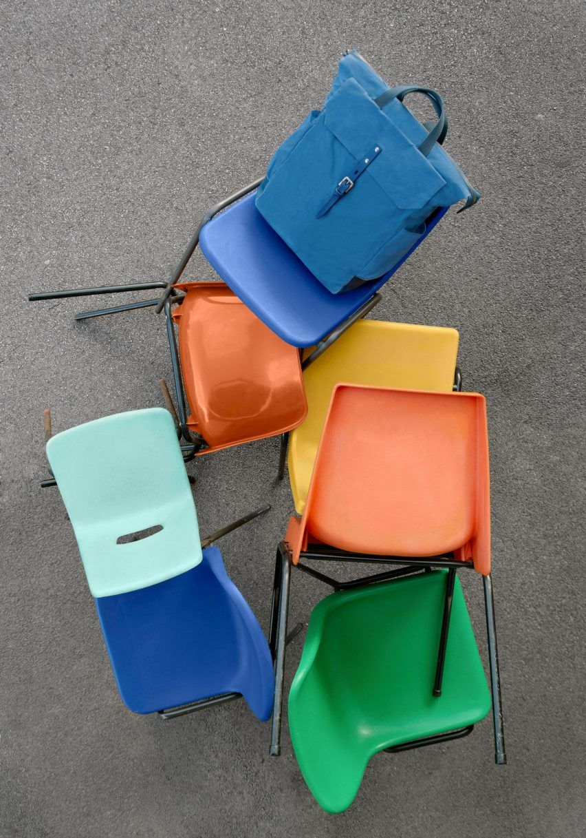 Ally Capellino looks to colourful plastic chairs for Spring Summer 2017 bag collection