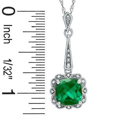 milgrained pendant