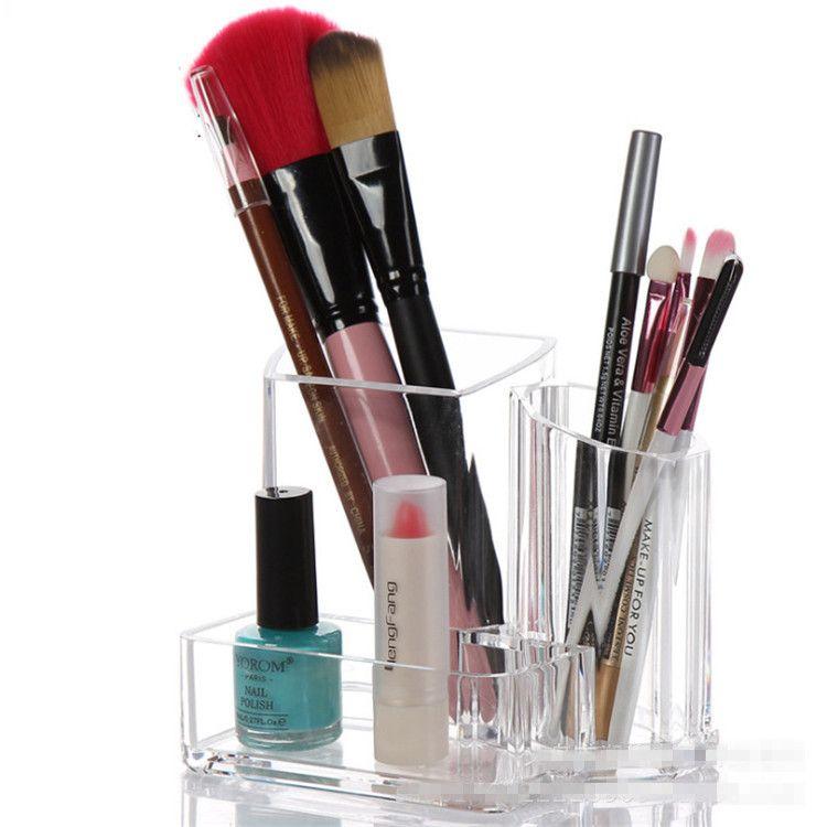 Fashion Acrylic Clear Makeup Organizer Cosmetic Display Jewelry
