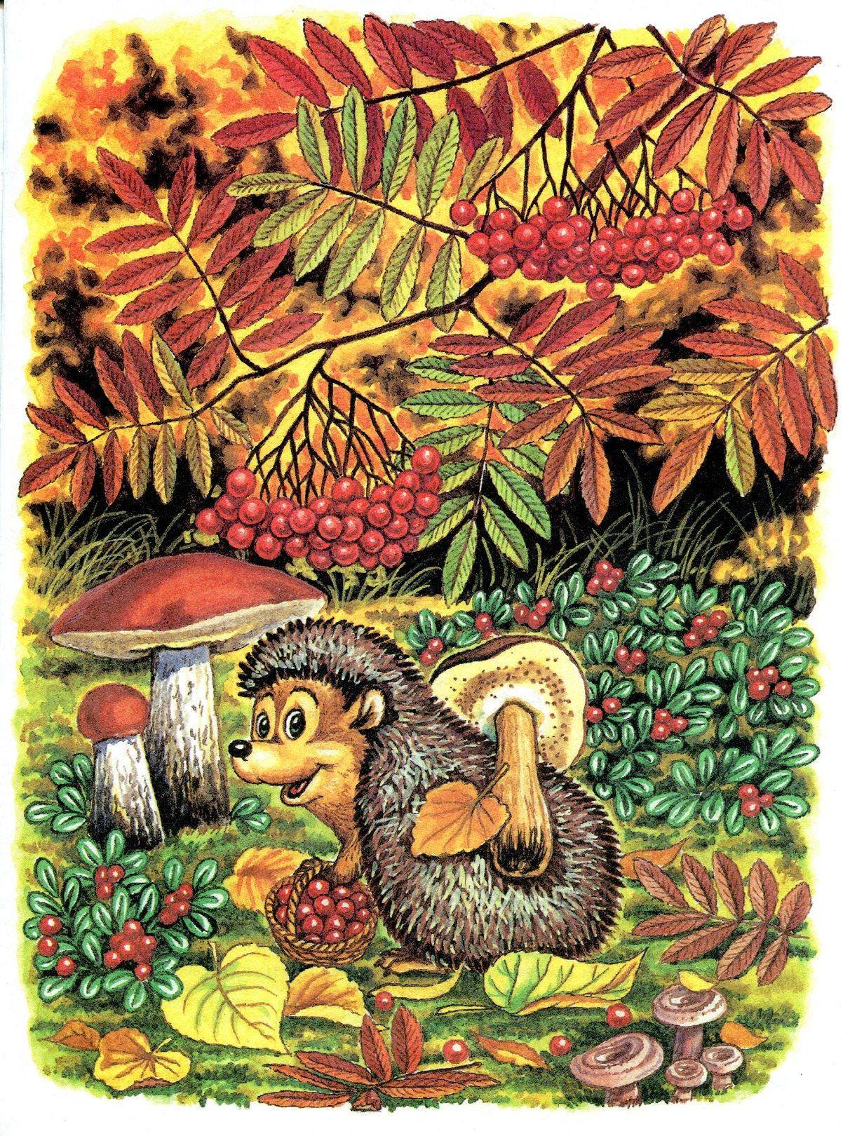 Сообщество иллюстраторов | Иллюстрация Осень. Букварь ...