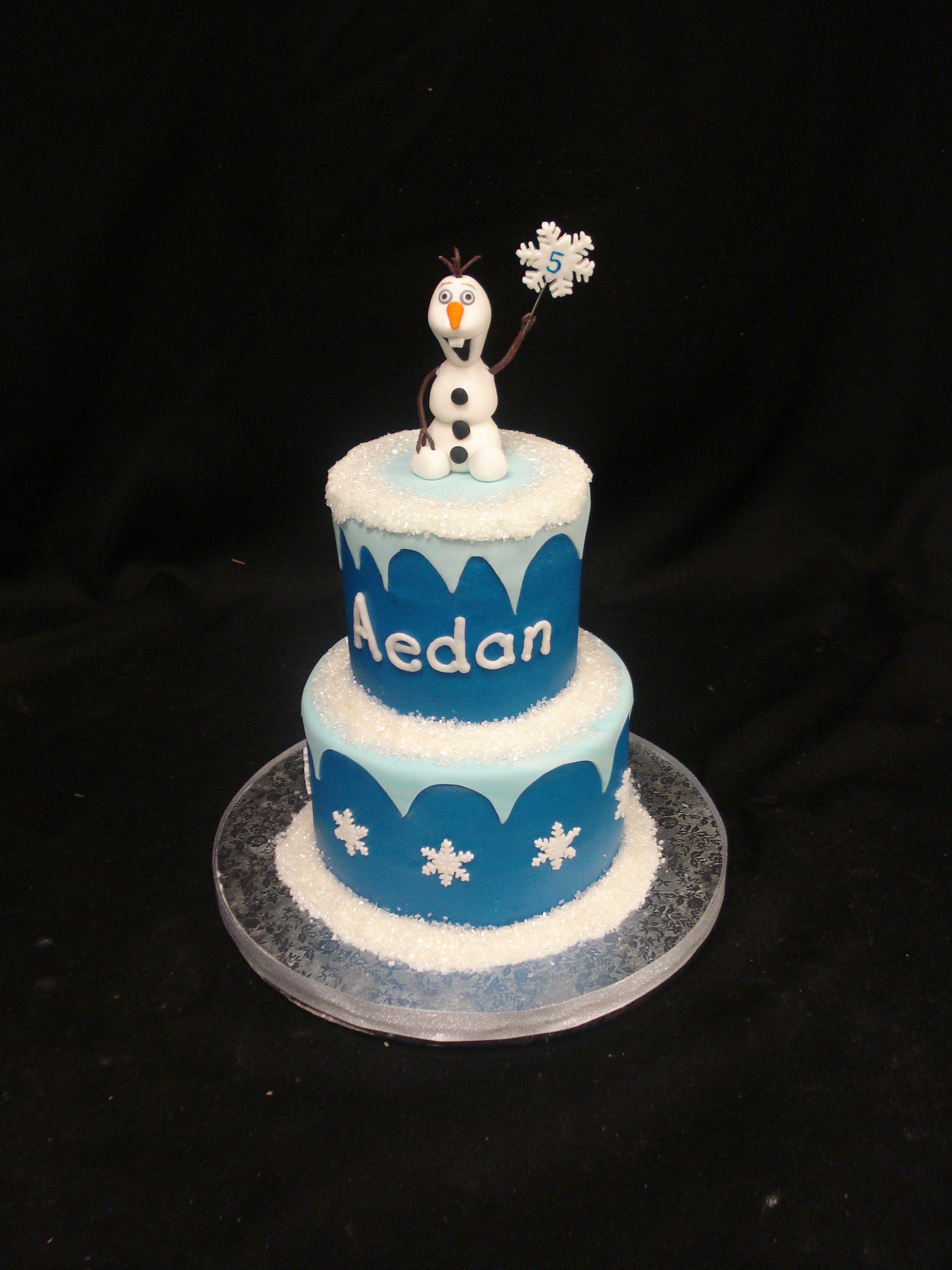 Surprising Frozen Birthday Cake Party Flavors Custom Cakes Orlando Fl Personalised Birthday Cards Xaembasilily Jamesorg