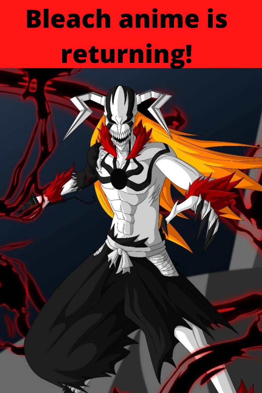 Bleach last manga arc will get anime adaptation in 2021