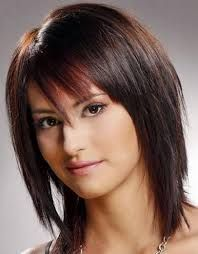 Image result for short length hairstyles for fine hair with bangs ...