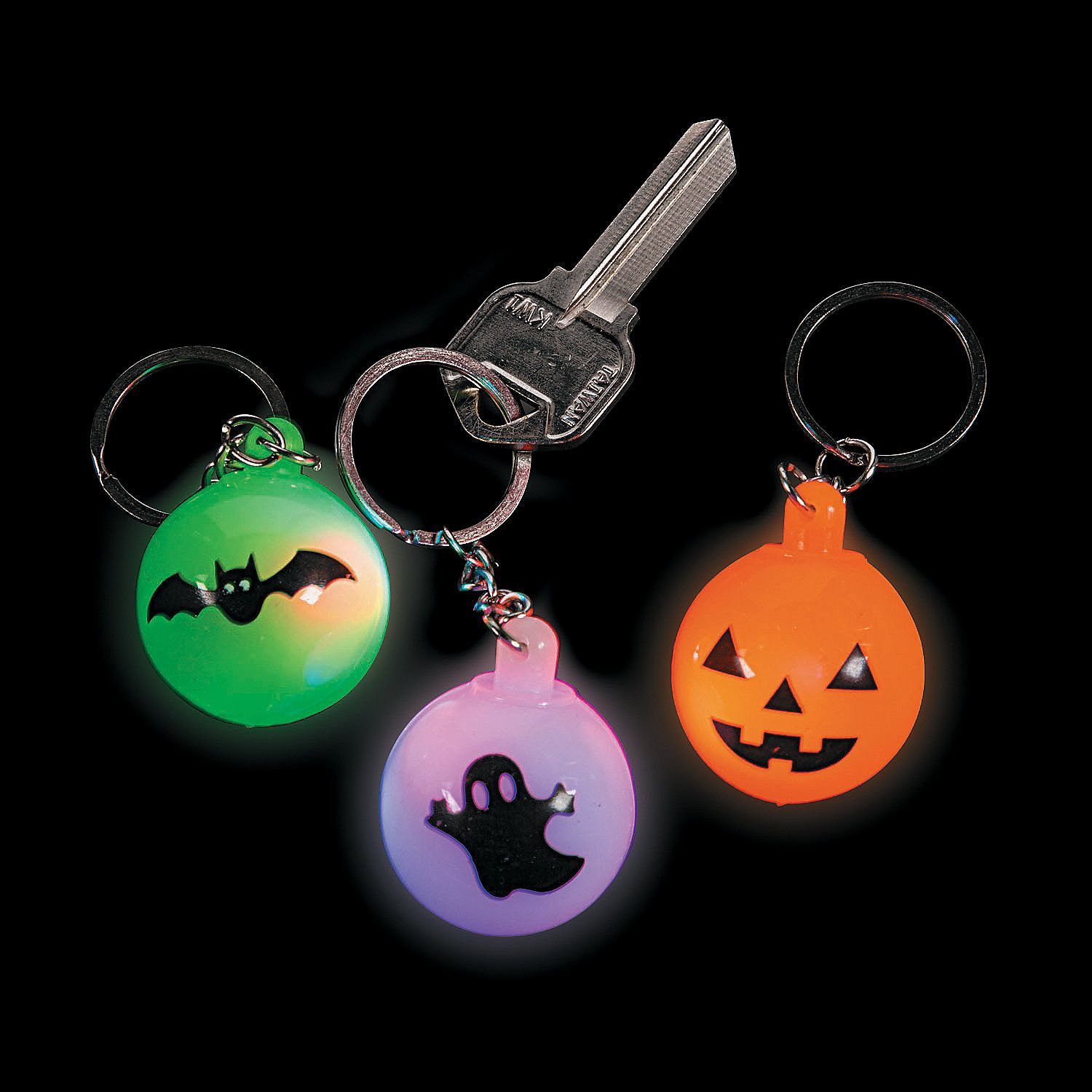 Light Up Halloween Keychains Orientaltrading Com Up Halloween