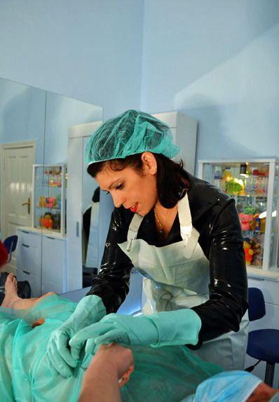 Krankenschwester Latex