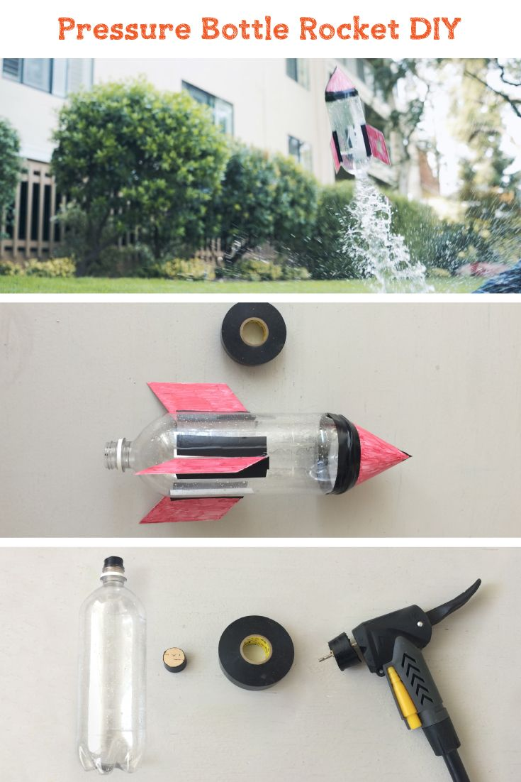how to make air pressure rocket