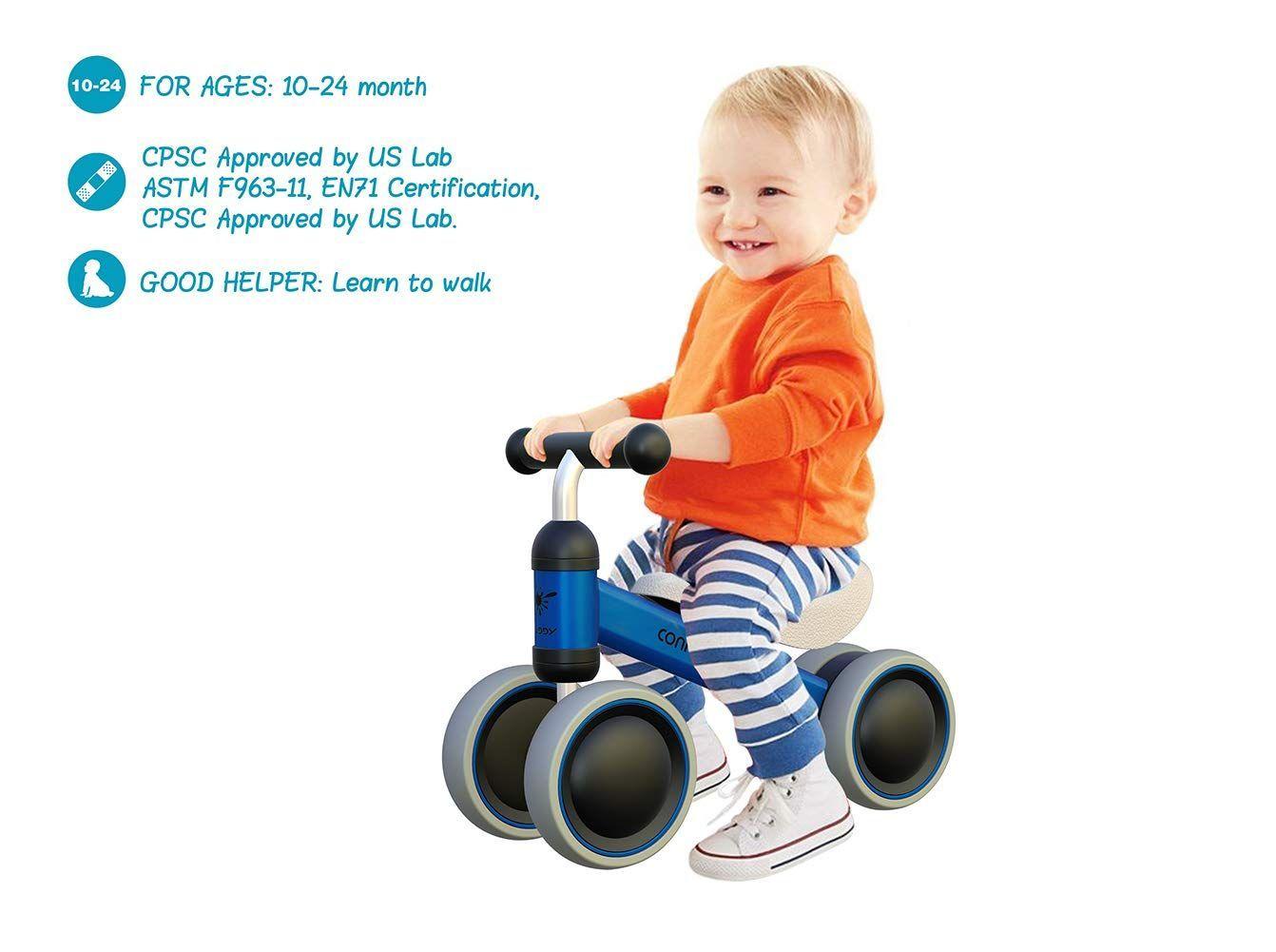 4 Rader Toy Walker Fur Jungen Und Madchen Fur Jungen Madchen Rader Toy Und Walker Laufrad Kinder Kleinkind Fahrrad Cooles Kinderspielzeug