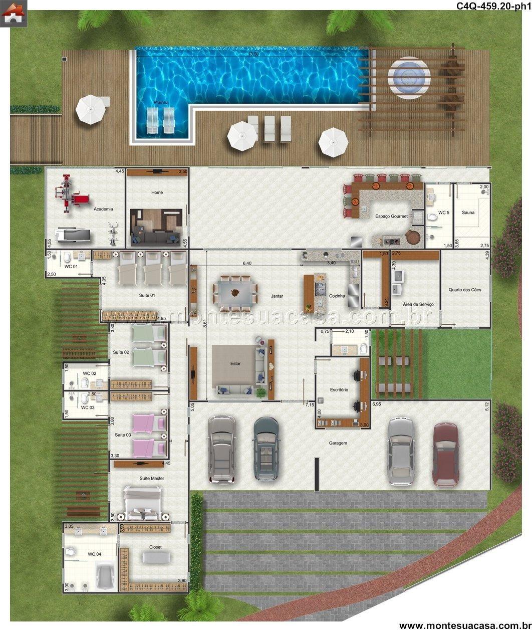 Casa 0 quartos dise o casas caras casas de for Diseno de piscinas para casas de campo