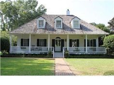 Beautiful Raised Creole Cottage By The Late Architect A Hays Town Town House Plans Acadian Style Homes Acadian House Plans