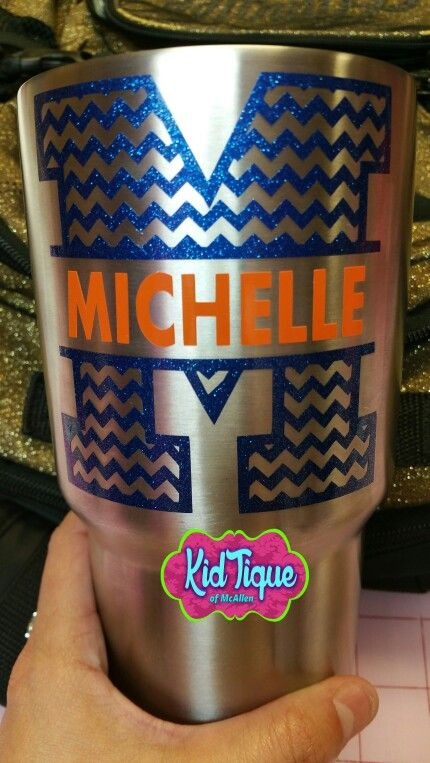 Personalize Your Yeti Cup With Awesome Monogram Decals Pic