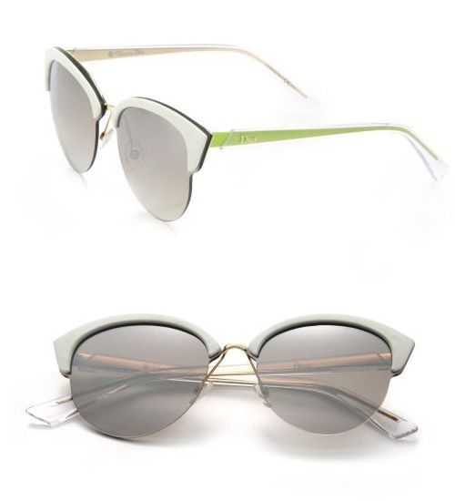 ba6a5a16474b Dior Clubmaster Round 65MM Metal Sunglasses Gold White  59.00 ...