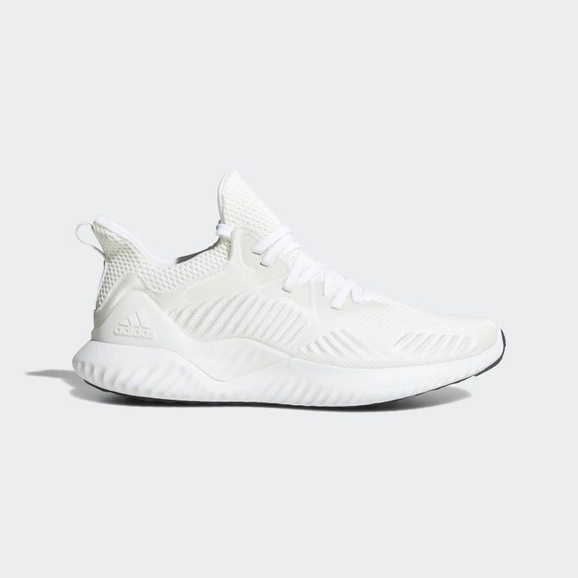 Alphabounce Beyond Shoes Cloud White / Silver Metallic ...