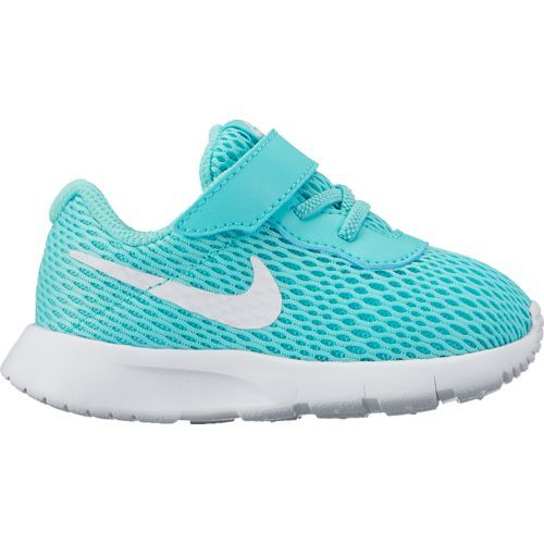 Nike Toddler Girls' Tanjun Running Shoes (Aurora Green/White/White, Size