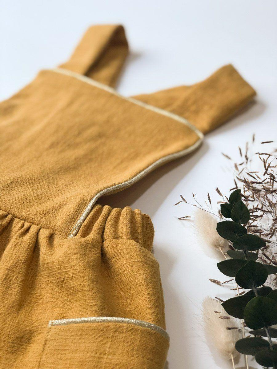 Tissu Lin Lavé - Ocre | Tissu lin, Lin lavé, Tissu