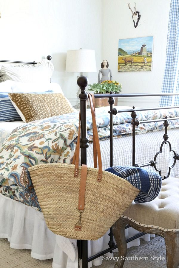 Savvy Southern Style French Style Guest Bedroom for Fall bedrooms