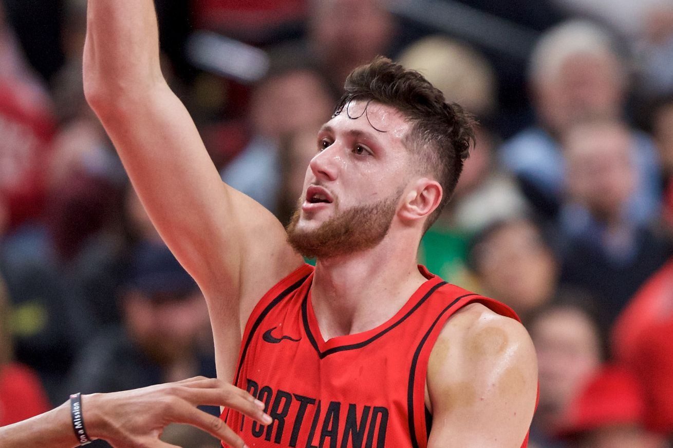 Despite Huge Night From Nurkic Bucks Humble Blazers In Portland Blazer Portland Trailblazers Trailblazer