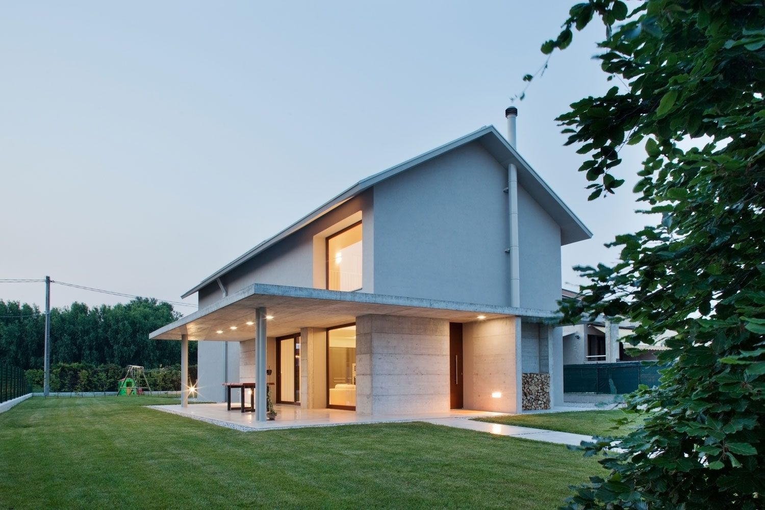 Detached home is a residential project completed by the architectural firm mide architects based in