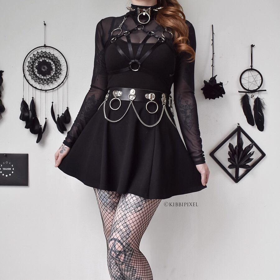How Much Do You Rate This Picture Nugoth Softgoth Gothgirls Gothgoth Gothicfashion Inspofashion Goth Grunge Dress Edgy Outfits Gothic Outfits When you look around and do some research you will find out that the dressing style and. nugoth softgoth gothgirls gothgoth